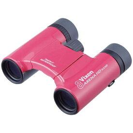 ビクセン Vixen 8倍双眼鏡「アリーナ」(ピンク)HD8x21WP[アリーナHD8X21WPピンク]