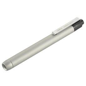 オーム電機 OHM ELECTRIC LH-PY1N-S ペンライト シルバー [LED /単4乾電池×2]