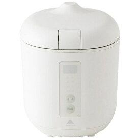 神明きっちん AK-PD01 炊飯器 poddi(ポッディー) ホワイト [1.5合 /マイコン][AKPD01]