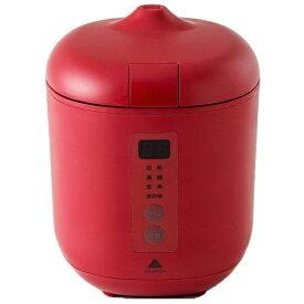 神明きっちん AK-PD01 炊飯器 poddi(ポッディー) レッド [1.5合 /マイコン][AKPD01]