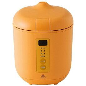 神明きっちん AK-PD01 炊飯器 poddi(ポッディー) オレンジ [1.5合 /マイコン][AKPD01]