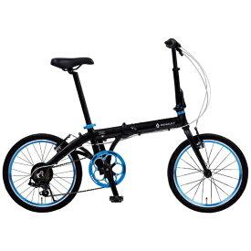 ルノー RENAULT 20型 折りたたみ自転車 ルノー ライト10 AL207(ブラック/外装7段変速) 11280-01【組立商品につき返品不可】 【代金引換配送不可】