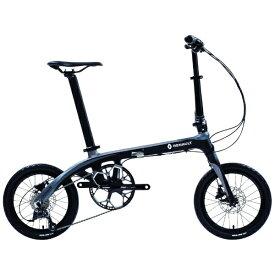 ルノー RENAULT 【組立商品返品不可】16型 折りたたみ自転車 ルノー カーボン8 C169(ブラック×グレー/外装9段変速) 11288-01※在庫有でもお届けにお時間がかかります 【代金引換配送不可】