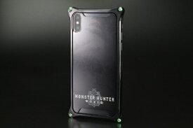 GILD design ギルドデザイン モンスターハンターワールドソリッドバンパーforiPhoneX/ブラック/リオレウス GI-MON-5