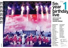 ソニーミュージックマーケティング 乃木坂46/5th YEAR BIRTHDAY LIVE 2017.2.20-22 SAITAMA SUPER ARENA Day1 通常盤【DVD】