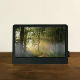 TAGlabel by amadana タグレーベル バイ アマダナ 【ビックカメラグループオリジナル】デジタルフォトフレーム digital photo frame AT-LDP01(BK) ブラック [8インチ][ATLDP01BK]【point_rb】
