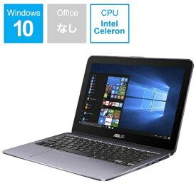 ASUS エイスース 【ビックカメラグループオリジナル】Vivo Book Flip12 ノートパソコン スターグレー TP203NA-GREY [11.6型 /intel Celeron /eMMC:64GB /メモリ:4GB /2018年3月モデル][11.6インチ 新品 windows10]