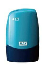 マックス MAX レターオープナー付個人情報保護スタンプ「コロレッタ」ブルー SA-151RL/B2