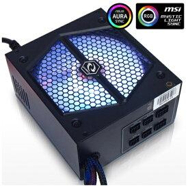 RAIDMAX レイドマックス 535W PC電源 THUNDER RGB RX-535AP-R [ATX /Bronze]