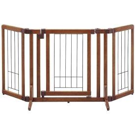 リッチェル Richell ペット用木製おくだけドア付ゲート(S)