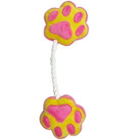ペットプロジャパン PetPro ペットプロ 足型ひっぱりロープ ピンク