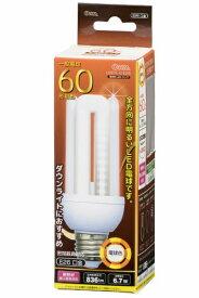 オーム電機 OHM ELECTRIC LDF7L-G-E26 LED電球 D形 ホワイト [E26 /電球色 /1個 /60W相当 /全方向タイプ][LDF7LGE26]