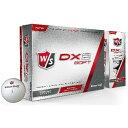 ウィルソン Wilson ゴルフボール ウイルソンスタッフ DX2 SOFT《1ダース(12球)/ホワイト》 [12球(1ダース)]【オウンネーム非対応】 【代金引換配送不可】