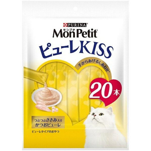 ネスレ日本 Nestle MonPetit(モンプチ)ピューレKISS つぶつぶささみ入り かつお 10g×20パック