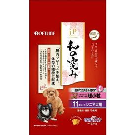 日清ペットフード Nisshin Pet Food JPスタイル 和の究み 超小粒 11歳以上のシニア犬用 2.1kg[JP11サイ21]