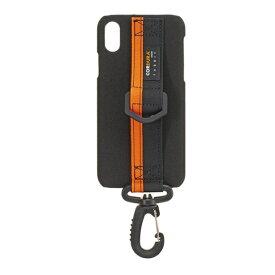 サンクレスト SUNCREST iPhone X用 BZGLAM コーデュラ ブラック IP8BZ01