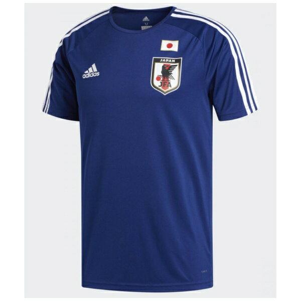 アディダス adidas メンズ シャツ サッカー日本代表 ホームレプリカTシャツ(Oサイズ/ナイトブルー F13×ホワイト)DTQ75