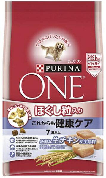 ネスレ日本 Nestle ピュリナワン ほぐし粒入り これからも健康ケア <7歳以上> チキン 2.1kg