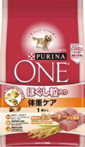 ネスレ日本 Nestle ピュリナワン ほぐし粒入り 体重ケア <1歳以上> ターキー 2.1kg