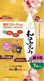 日清ペットフード Nisshin Pet Food JPスタイルゴールド 和の究み 超小粒 7歳から 800g