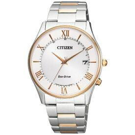 シチズン CITIZEN [ソーラー電波時計]シチズンコレクション「エコ・ドライブ電波時計 薄型シリーズ ペアモデル」 AS1062-59A