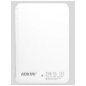 ANS KPB-4000E モバイルバッテリー ホワイト [4000mAh /1ポート /Lightning /microUSB /充電タイプ]