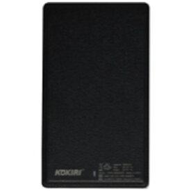 ANS KPB-G5000GPS モバイルバッテリー ブラック [5000mAh /1ポート /Lightning /microUSB /充電タイプ]