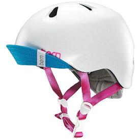 BERN バーン 子供用ヘルメット NINA ALL SEASON (Satin White/ S-Mサイズ:51.5〜54.5cm) BE-VJGSWTV-12