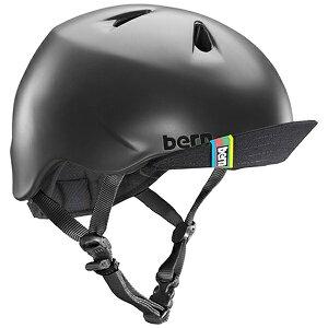 BERN バーン 子供用ヘルメット NINO ALL SEASON (Matte Black/ XS-Sサイズ:48〜51.5cm) BE-VJBMBKV-11