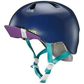 BERN バーン 子供用ヘルメット NINA ALL SEASON (Satin Navy Blue/ S-Mサイズ:51.5〜54.5cm) BE-VJGSNYV-12