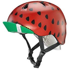 BERN バーン 子供用ヘルメット NINA ALL SEASON (Satin Red Strawberry/ XS-Sサイズ:48〜51.5cm) BE-VJGSRSV-11
