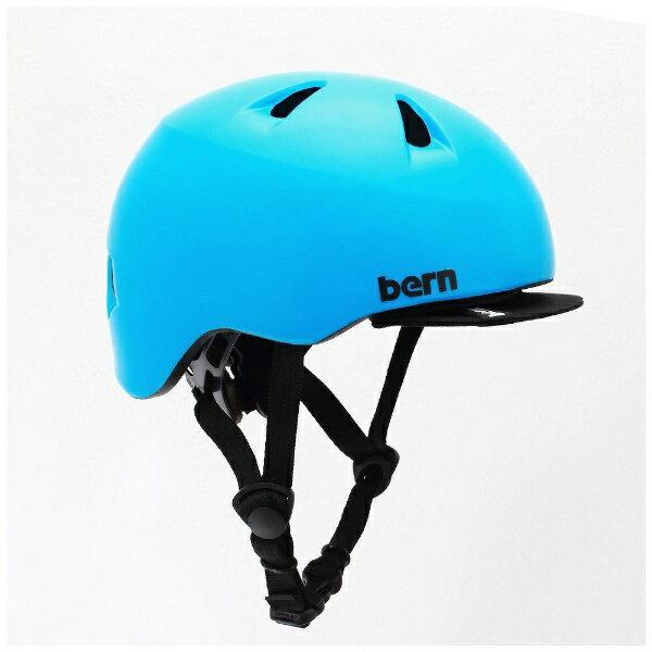 BERN 幼児用ヘルメット TIGRE ALL SEASON (Satin Cyan Blue/ XXSサイズ:47〜51cm) BE-BB00Z18SCY-10