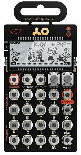 【送料無料】 Teenage Engineering ポケットオペレーター PO-33 K.O! TE010AS033 TE010AS033[TE010AS033]