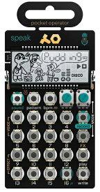 TEENAGE ENGINEERING ティーンエイジ エンジニアリング ポケットオペレーター PO-35 speak! TE010AS035 TE010AS035