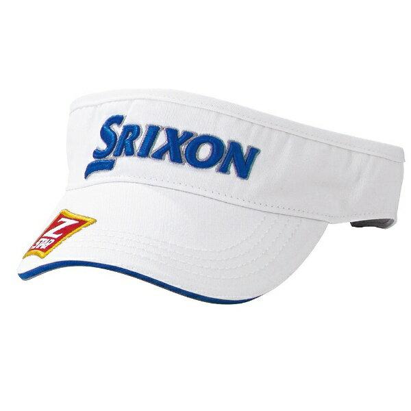 ダンロップ スリクソン DUNLOP SRIXON メンズ ゴルフバイザー SRIXON バイザープロモデル(フリーサイズ:54〜60cm/ホワイト×ブルー) SMH6332X