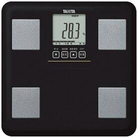 タニタ TANITA 【ビックカメラグループオリジナル】タニタ 体重体組成計 健康管理 お手軽 ダイエット コンパクト 小型 立てかけ収納OK ブラック BCBI01BK[体重計 体脂肪計 BCBI01BK]【point_rb】