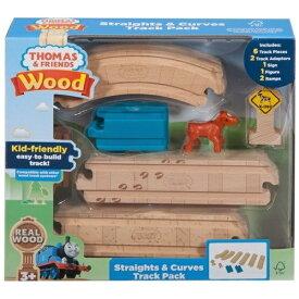 マテル Mattel きかんしゃトーマス 木製レールシリーズ 直線&曲線 拡張レールセット