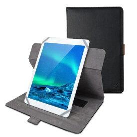 エレコム ELECOM タブレット汎用ブックタイプケース/ソフトレザー/360度回転/7.0〜8.4inch/ブラック TB-08360BK ブラック