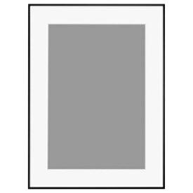 ハクバ HAKUBA アルミ額 HFA-03 ブラック(ホワイトマット) A3ノビ HFA-03BWM-A3N BK(白マット)