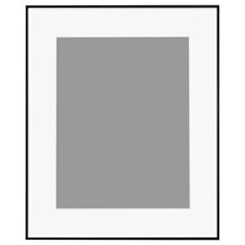 ハクバ HAKUBA アルミ額 HFA-03 ブラック(ホワイトマット) 半切 HFA-03BWM-H BK(白マット)