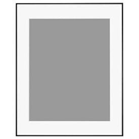 ハクバ HAKUBA アルミ額 HFA-03 ブラック(ホワイトマット) 全紙 HFA-03BWM-Z BK(白マット)
