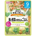 和光堂 wakodo 1食分の野菜が摂れるグーグーキッチン 鮭と根菜の炊き込みごはん (100g) 〔離乳食・ベビーフード〕