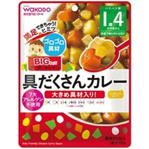 アサヒグループ食品 Asahi Group Foods BIGサイズのグーグーキッチン 具だくさんカレー (100g) 〔離乳食・ベビーフード〕【wtbaby】