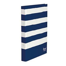 セキセイ SEKISEI [ファイル]フィンダッシュ リングファイル(A4-S、2穴、110枚収容) FINN-7225-15 ネイビー