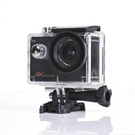 SAC エスエーシー AC900B アクションカメラ ブラック [4K対応 /防水][AC900B]