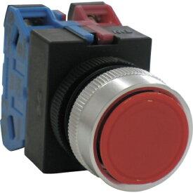 IDEC アイデック 平形押しボタンスイッチ ABW111R