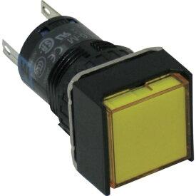 IDEC アイデック φ16正角形照光押しボタンスイッチ AL6Q-M14Y