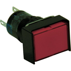 IDEC アイデック φ16長角形照光押しボタンスイッチ AL6H-M14R