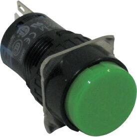 IDEC アイデック φ16丸形押しボタンスイッチ AB6M-M1G