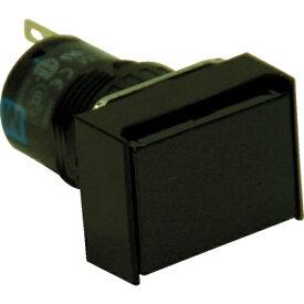 IDEC アイデック φ16長角形押しボタンスイッチ AB6H-M1B